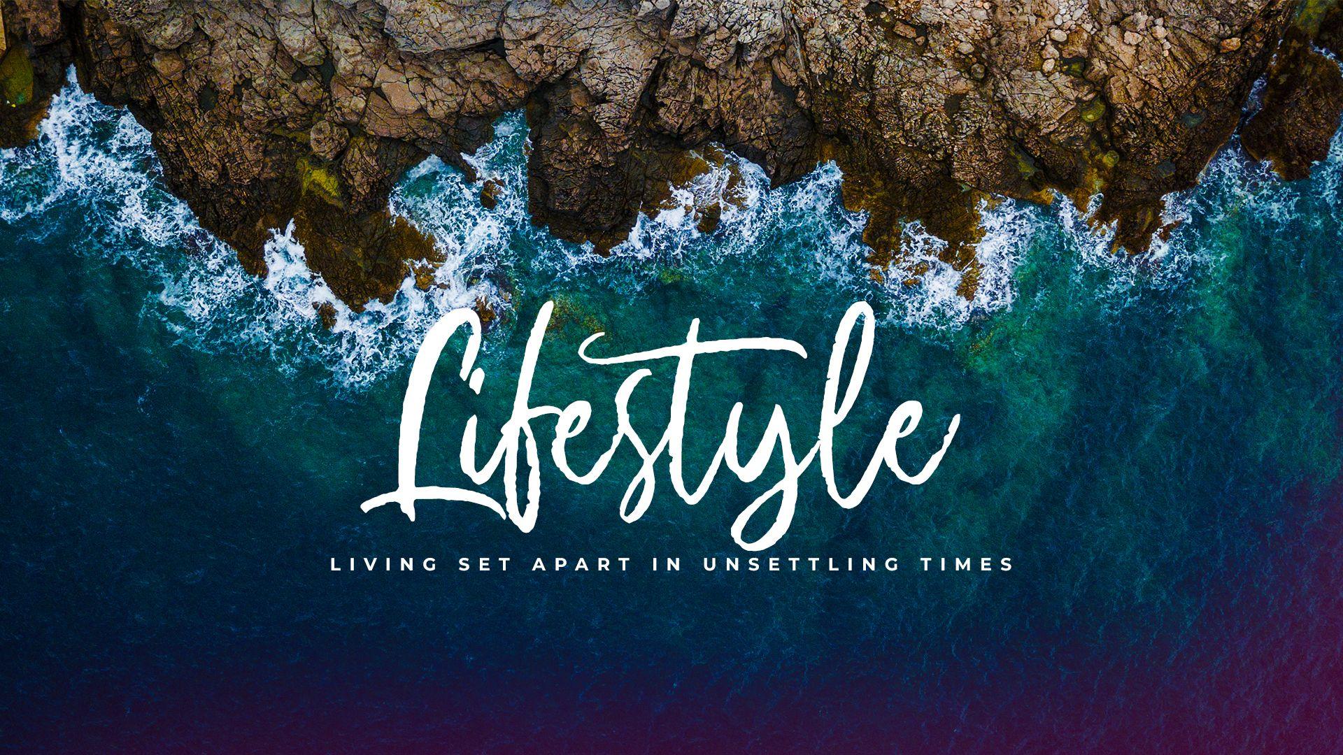 Lifestyle Sermon Series Title Slide
